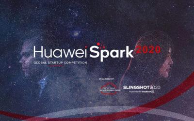 Myservy entre los seleccionados en el Huawei Spark Singapure 2020